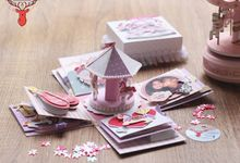 Carousel Exploding Box (2layer) by Cora Craft