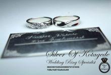 Cincin kawin Platinum 95 by Silverofkotagede