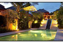 Another view of private pool villas by Pat-Mase Villas at Jimbaran