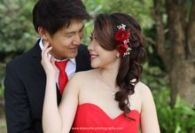 The Engagement of Charles & Vania by Eka Susila Photography