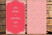 Peach Dot by SAMARA CARD