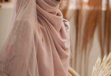 Romantic Wedding Gown Photoshoot by LAKSMI - Kebaya Muslimah & Islamic Bride