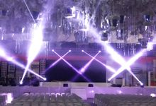 lighting show by LaVeto production