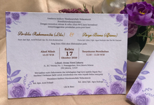 Envelope Hardcover Invitation by Bagya