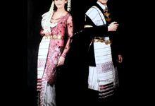 Traditional Batak Wedding Attire by Martha Ulos