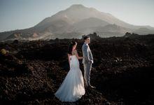 Volcano in kintamani mountain by Maxtu Photography