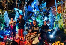 Bali Bossa Band Ethnic at Ubud Palace by BALI LIVE ENTERTAINMENT