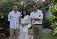 Acoustic Trio for Benjamin & Putu wedding 6 Jul 19 by BALI LIVE ENTERTAINMENT