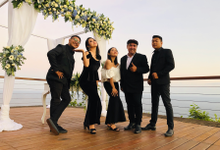 Adrien & Alisa wedding 2 Sep 2019 with Bali Bossa by BALI LIVE ENTERTAINMENT