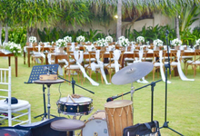 iRaga Trio - The Wedding of Andy & Dessy by BALI LIVE ENTERTAINMENT