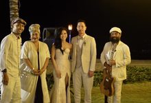The Wedding of Andy & Dessy by BALI LIVE ENTERTAINMENT