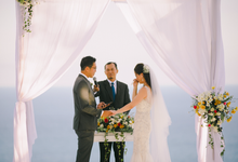 Wedding at Villa Cahaya in Sinaran Surga by Bali Tie d' Knot