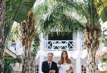 Wedding at Villa Tamarama in The Ungasan by Bali Tie d' Knot