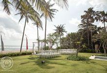 Ombak Luwung Villa - Bianca & Paul by Iwan Photography