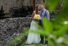 Wedding Photo of Ash and Bambi at Private Villa in Jimbaran by D'studio Photography Bali
