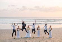 Bali Wedding Destination at Legian by Gusmank Wedding Photography