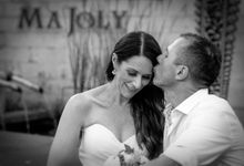 Wedding Pictures of Mat and Naomi Wedding Day at Ma Joly Bali by D'studio Photography Bali