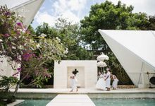 Danny & Elly Bali Wedding at Tirtha Chapel by Bali Pixtura