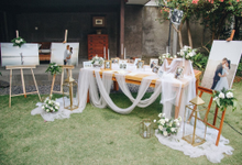 Albert and Grace Wedding  by Bali Wonderful Decor