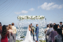 Aaron and Justine Wedding by Bali Wonderful Decor