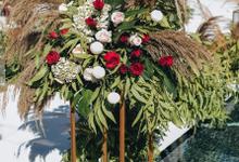 Filbert and Meiting Wedding  by Bali Wonderful Decor