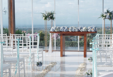 Richart & Syenny Wedding  by Bali Wonderful Decoration