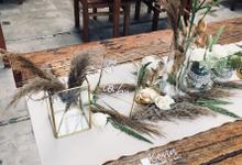 Bridal Shower - Dry flower theme by Bali Wonderful Decor
