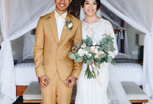 Debora and David Wedding  by Bali Wonderful Decoration