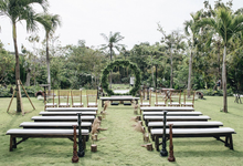 Andry and Hanna Wedding  by Bali Wonderful Decoration
