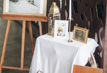Zamir and Vivi wedding reception by Bali Wonderful Decor