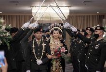 Mirna & Aris - All In Wedding Akad & Reception by Blueroses Planner