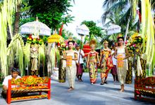 BALINESE COSTUME WEDDING by Legian Beach Hotel