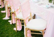 SHABBY PINK DECOR by Bali Wedding Production