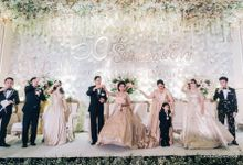 Golden Wedding of Suwidja & Evy by Eurasia Wedding