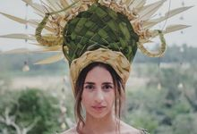 Wedding Headdresses by Make A Scene! Bali