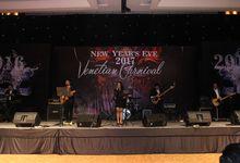 New year at Sheraton Gandaria by X-Seven Entertainment