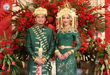 Bangka Wedding of Audira & Rolan by SVARNA by IKAT Indonesia Didiet Maulana