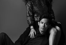 Citra & Kaka - Black and White Couple by ELNATH