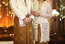 Audy & Kemal Javanese Wedding by Batik Rosethree