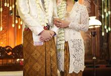 Audy & Kemal Javanese Wedding by Batik Rosethree