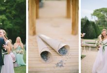 Stunning South of France Chateau Wedding by M&J Photography
