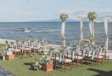 White rustic wedding at Villa Bayu Gita by Silverdust Decoration