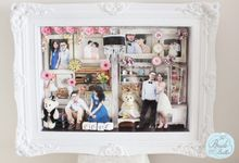 BIG SIZE scrapframe by The Bride and Butter