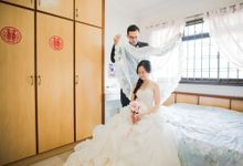 Wedding Day of Lin and Sei at Hard Rock Hotel Sentosa Singapore Actual Day Photography by oolphoto