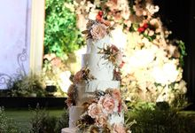 The Wedding of Yosep & Livita by KAIA Cakes & Co.