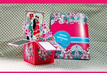 Pop Up Box Invitation by Quad.art