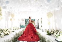The Bride Reception of Aita Yukuri & Herman Liunardi by THE SOLUTION EVENT MANAGEMENT
