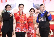 ENGAGEMENT DAY OF LEA & SANFORD AT JADE IMPERIAL RESTO by JIMMY & LIECHEN MC and Magician Wedding Specialist