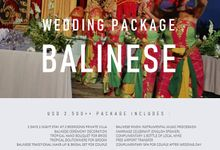 Balinese Wedding Package by Nagisa Bali