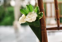 Intimate Wedding by Villa Santai Ubud by Bali Villas R Us
